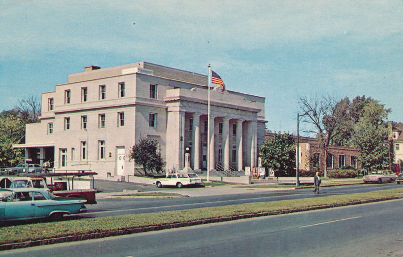 Canandaigua, New York - Post Office and YMCA