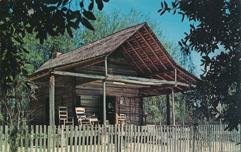 Tallahassee, Florida - Farm House at Junior Museum - pm 1974