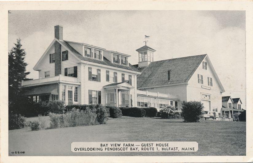 Belfast, Maine - Bay View Farm Guest House - Overlooking Penobscot Bay