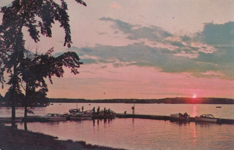 Sunset on St. Lawrence River - Morristown, New York - Jacques Cartier State Park