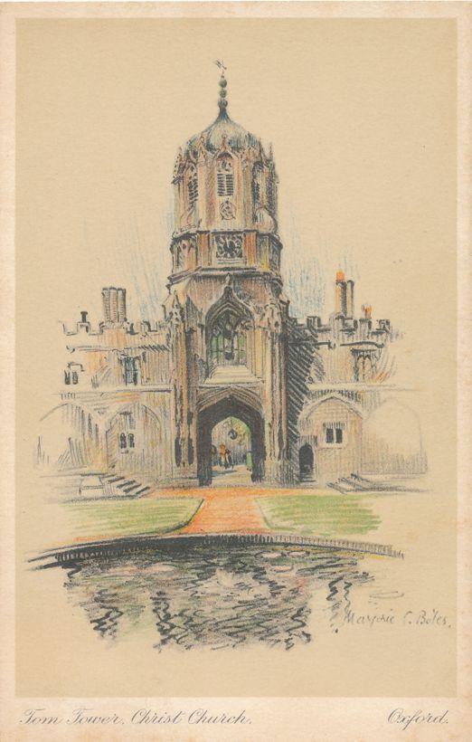 Tom Tower Christ Church - Oxford, United Kingdom - a/s Marjorie Bales