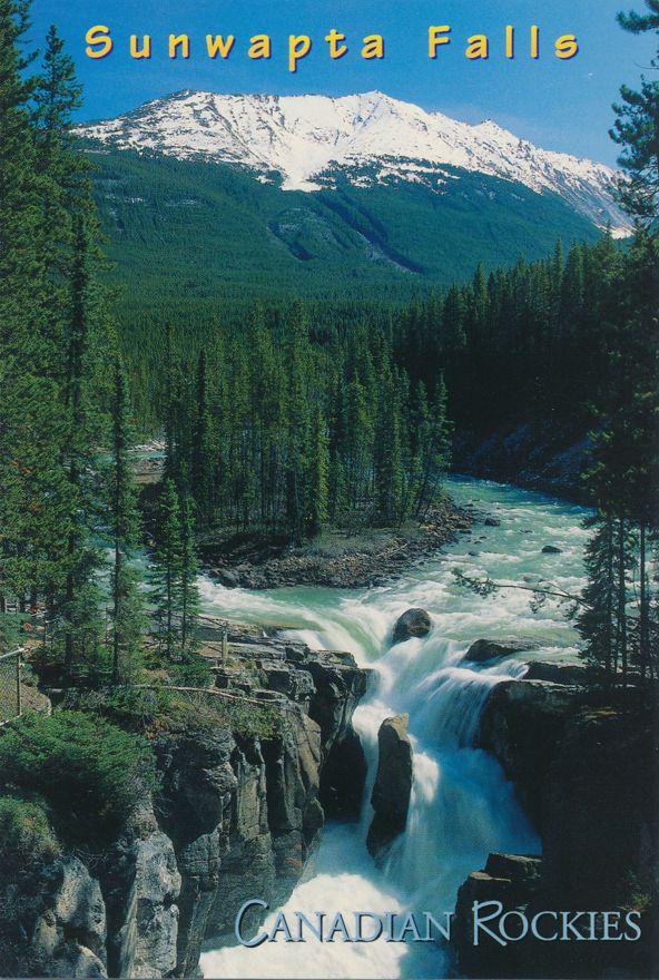 Sunwapta Falls, Alberta, Canada - Jasper National Park