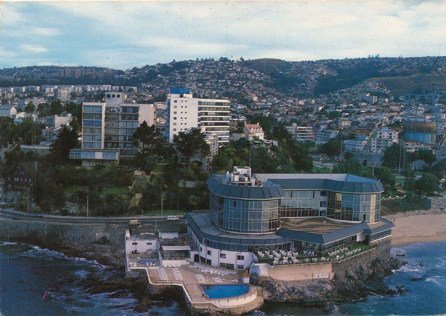 Hotel Miramar Aerial View - Vina del Mar, Chile, South America - pm 2003
