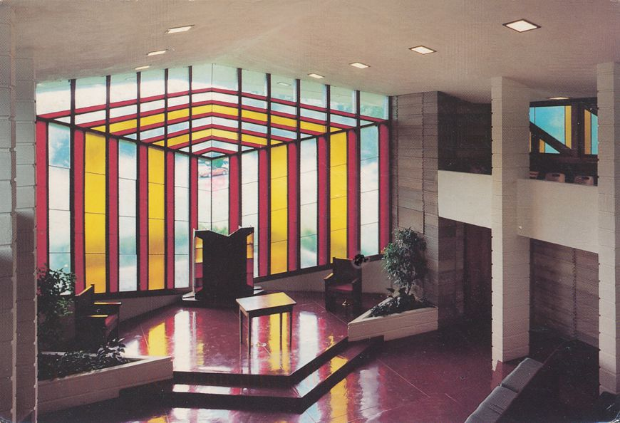 Lakeland, Florida - Chapel at Florida Southern College - pm 1996 at Gainesville FL