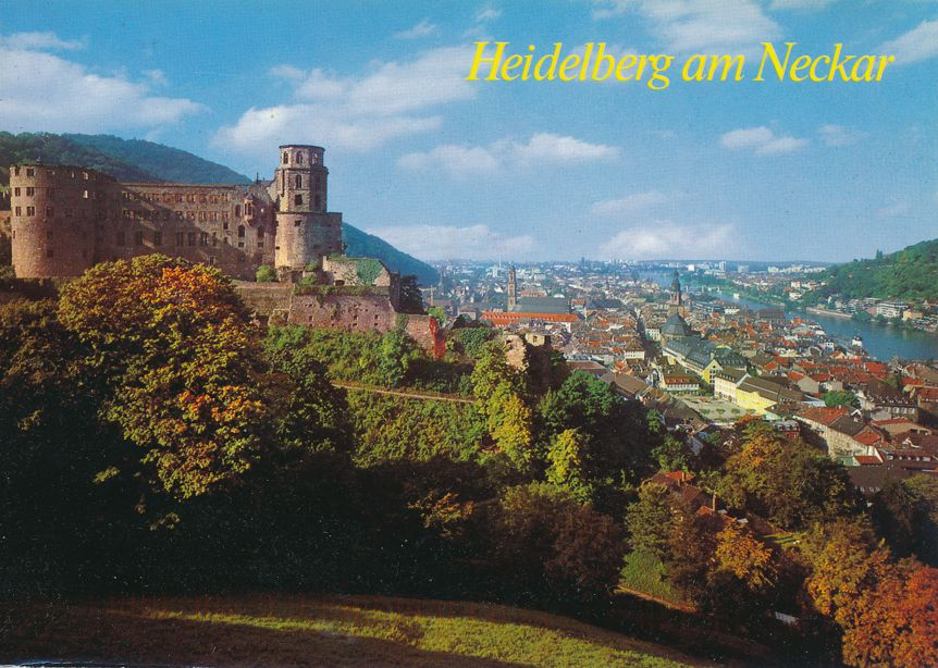 Castle at Heidelberg, Germany - pm 2004