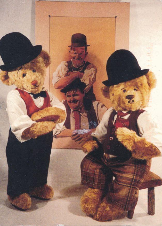 Laurel And Hardy and Teddy Bears - Teddy Bear Artists