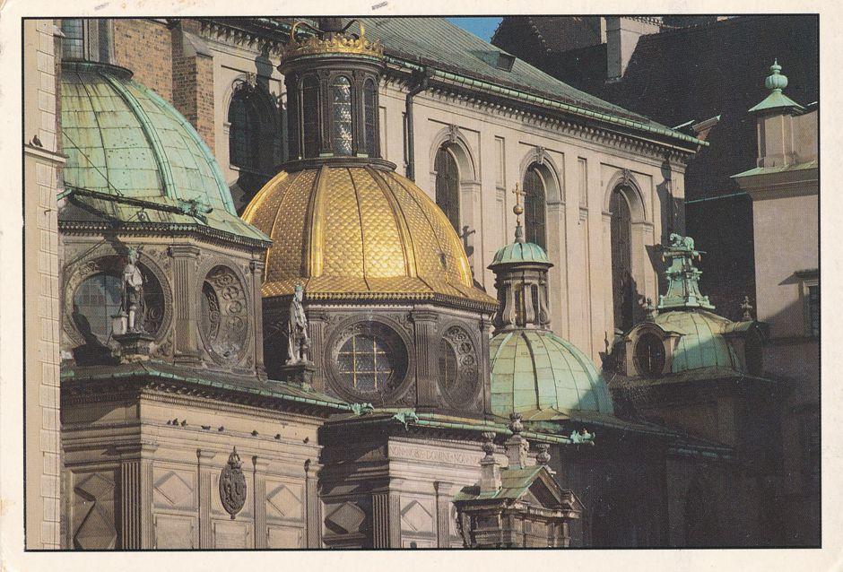Krakow, Poland - Royal Wawel Castle - pm 1991