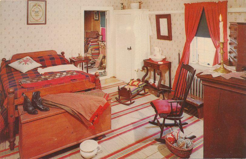 Manheim, Pennsylvania - Missimer-Weil Museum - Early Penna. Dutch Bedroom