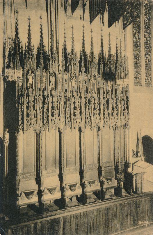 Valley Forge, Pennsylvania - Choir Stalls at Washington Memorial Chapel