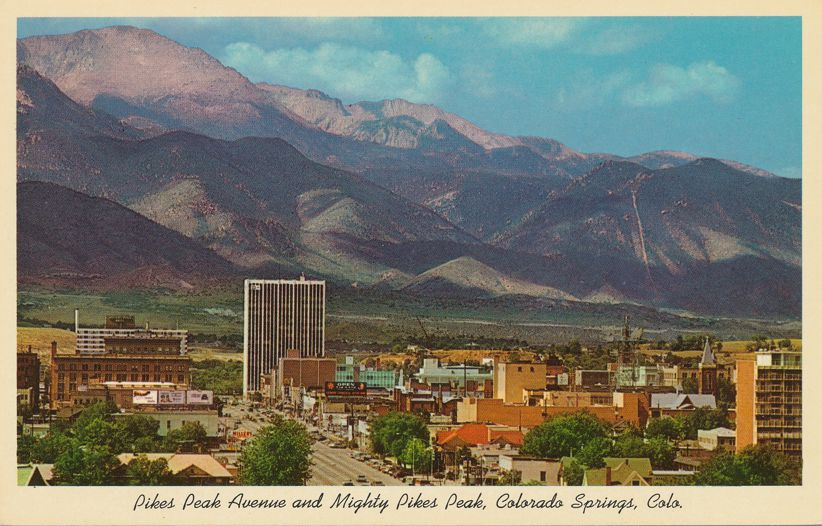 Colorado Springs, Colorado - Pikes Peak Avenue