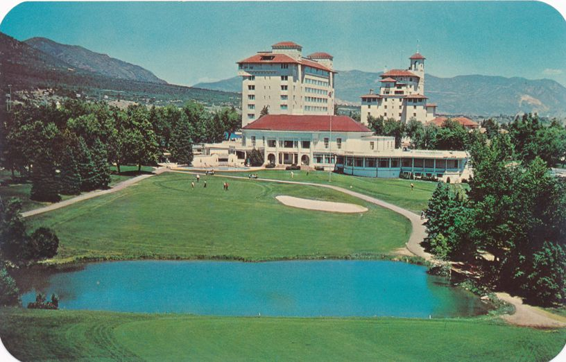 Colorado Springs, Colorado - Golf Course at Broadmoor Hotel