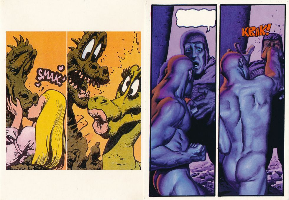 (6 cards) Richard Corben Comic Book Artist Illustrator - Prints on Postcards
