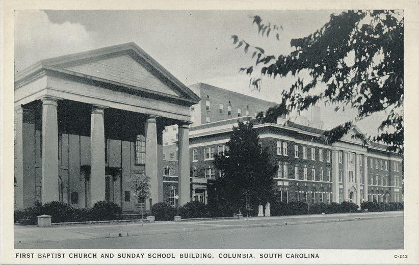 First Baptist Church and Sunday School Building - Columbia, South Carolina