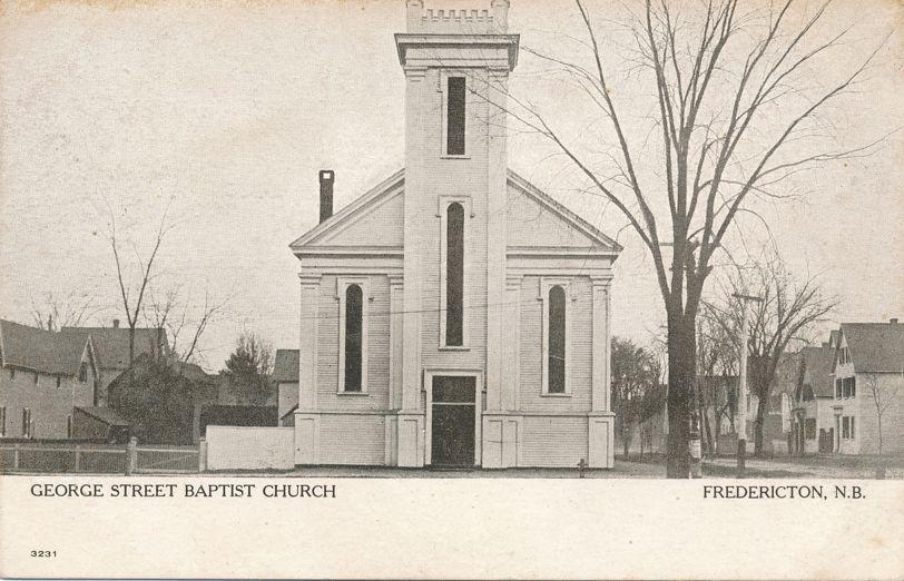 Gerorge Street Baptist Church - Fredericton, New Brunswick, Canada