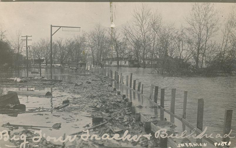 RPPC Flood Disaster at Columbus, Ohio - presume 1913 - Real Photo