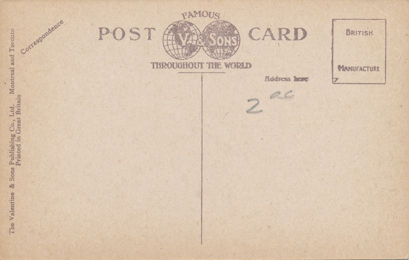General and Marine Hospital - Owen Sound, Ontario, Canada - Divided Back