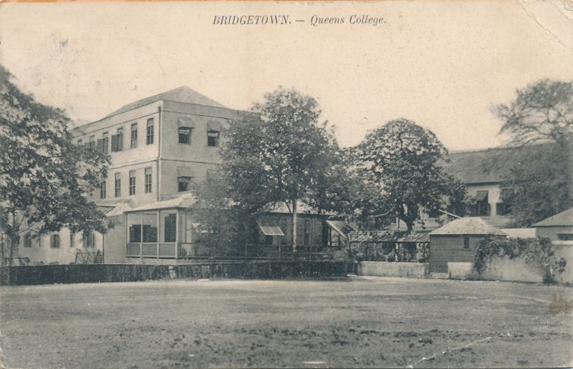 Queens College - Bridgetown, Barbados - Divided Back