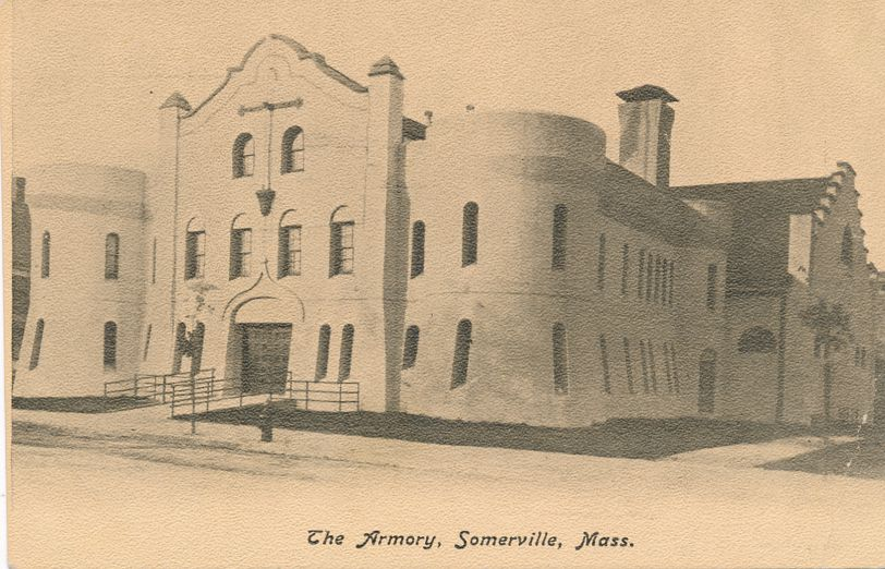 The Armory at Somerville, Massachusetts - Undivided Back