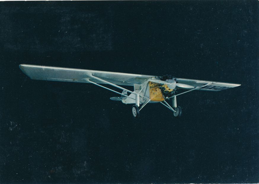 US #1596 - Lindbergh Flight 50 Years - Grand Island 1977 - Fancy Cancel - pm 1977 at Grand Island NE