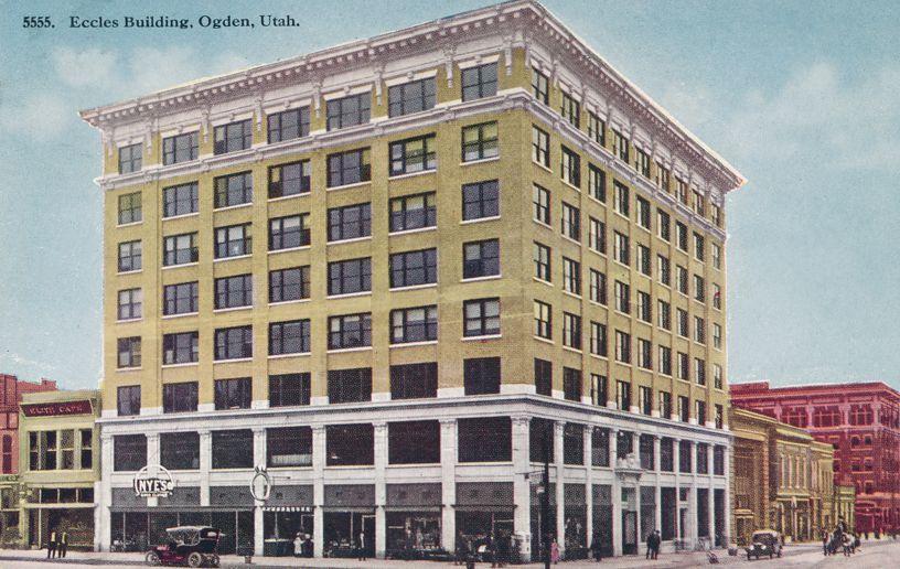Eccles Building - Ogden, Utah - Divided Back