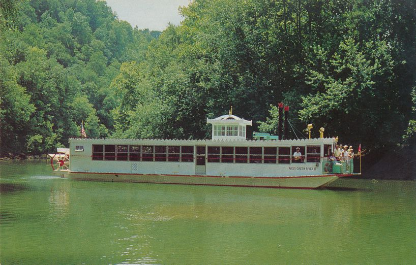 Sightseeing Cruiser on Green River - Mammoth Cave National Park, Kentucky