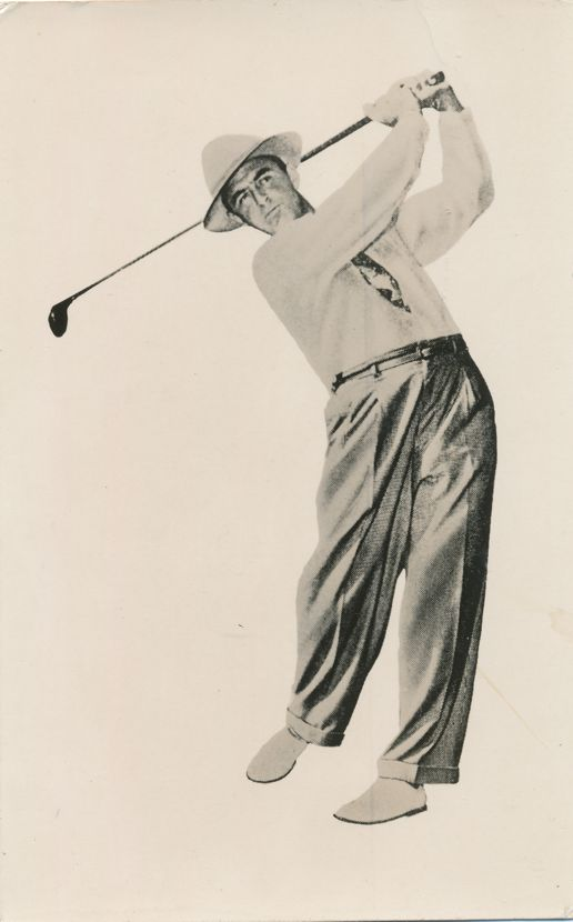 Sam Snead - Famous Golfer in 1930's, 40's, and 50's - Sport