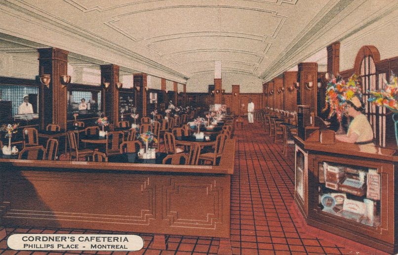 Cordners Limited Restaurant - Phillips Place - Montreal, Quebec, Canada