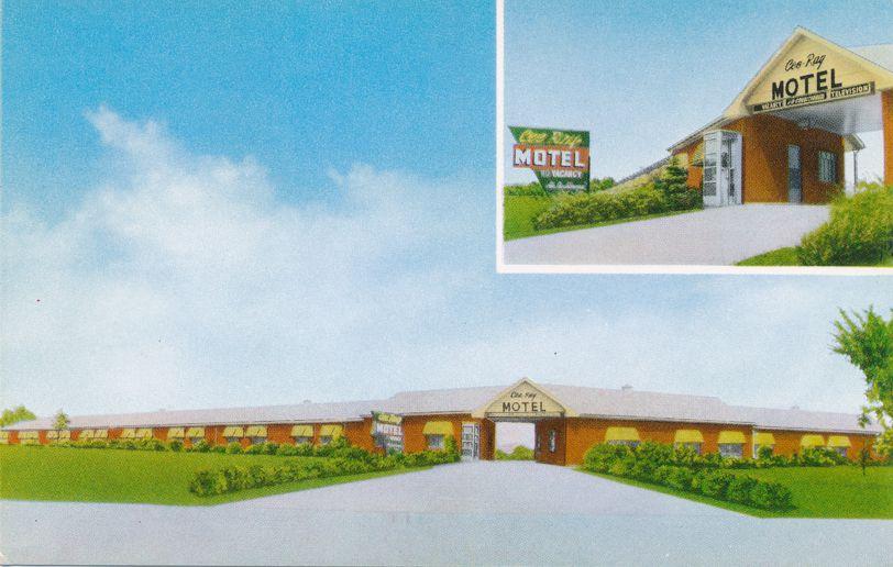 Cee-Ray Motel on Northfield Road - Bedford, Ohio - Roadside