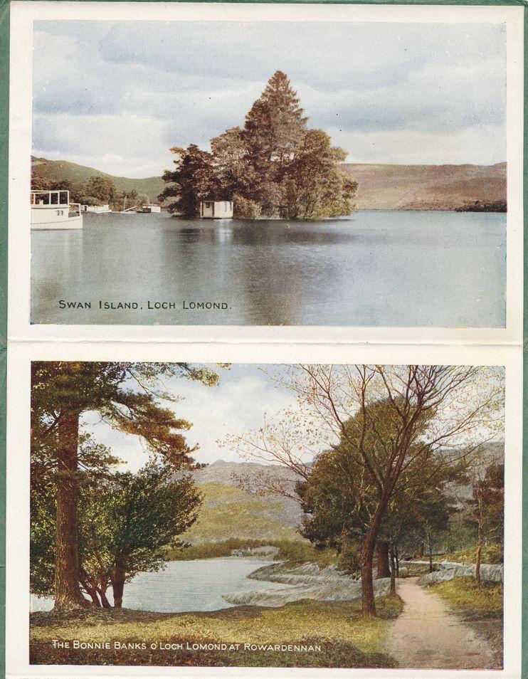(5 views) Folder of Loch Lomond in Scotland, United Kingdom