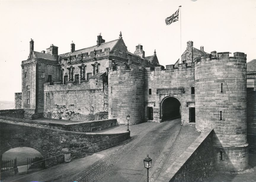 RPPC Stirling Castle, Scotland, Great Britain - Real Photo