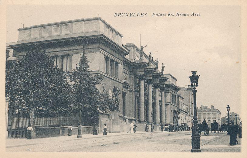 Bruxelles - Brussels, Belgium - Center for Fine Arts - Palais des Beaux-Arts - Divided Back
