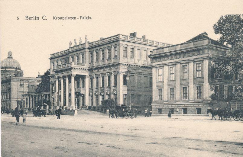 Berlin, Germany - Crown Prince's Palace - Kronprinzen-Palais - Divided Back