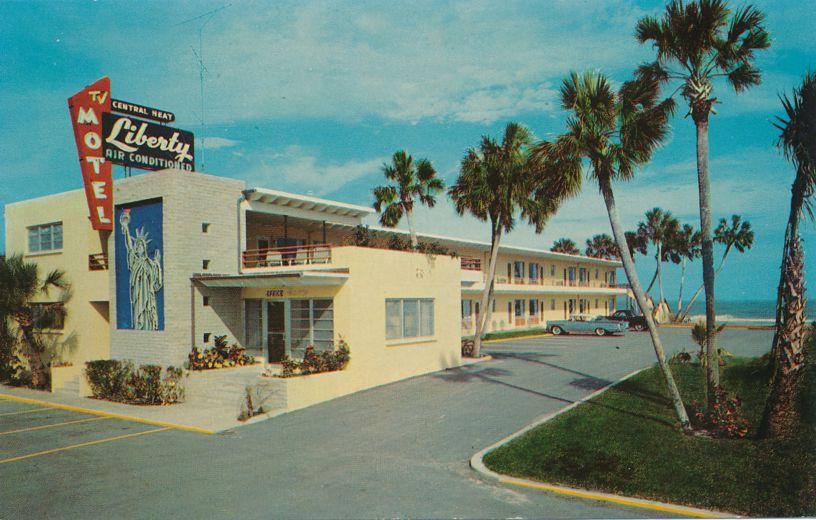 Liberty Motel at Ormond Beach, Florida near Daytona Beach