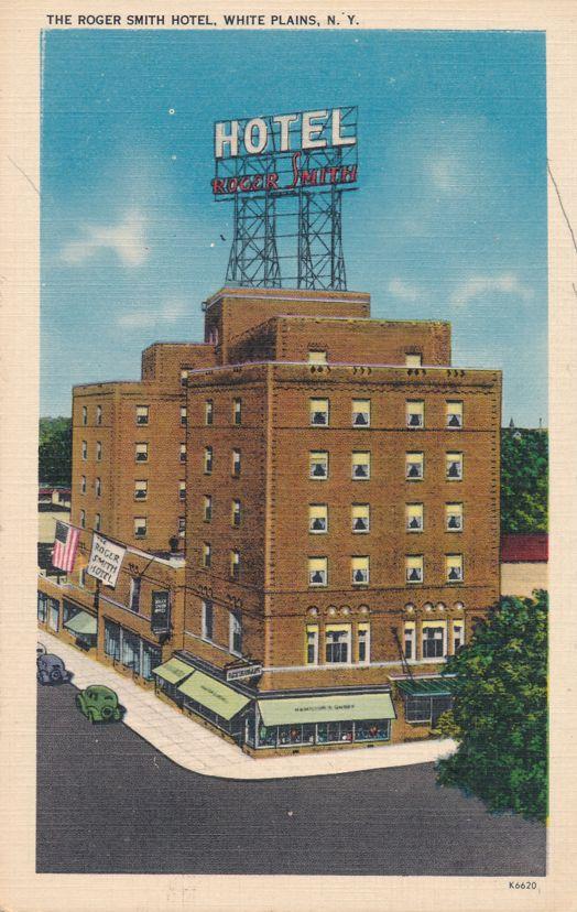 Roger Smith Hotel - White Plains, New York - Linen Card
