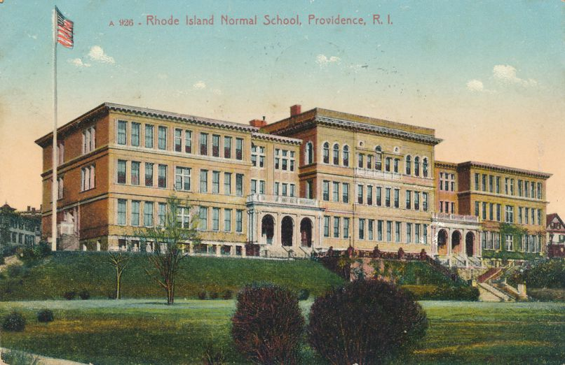 Rhode Island Normal School at Providence, Rhode Island - pm 1912 - Divided Back