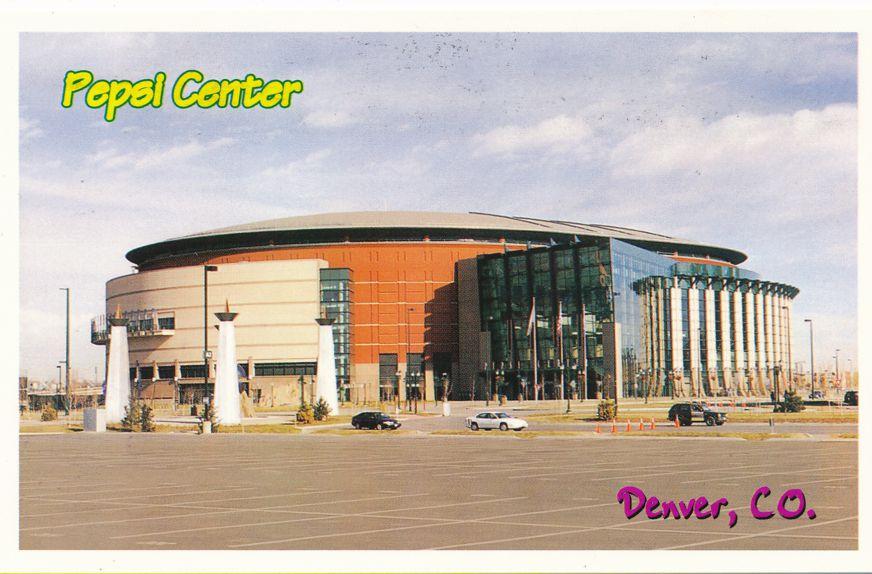 Pepsi Center - Denver, Colorado - Avalanche Hockey and Nuggets Basketball