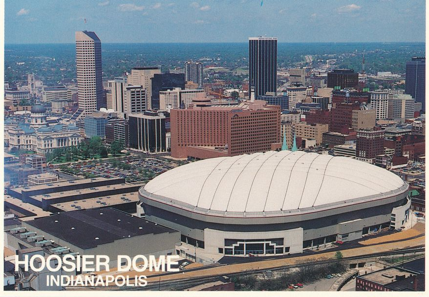 Indianapolis, Indiana - Hoosier Dome Convention Center - Colts Football Team