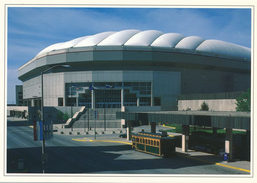 Indianapolis, Indiana - RCA (formerly Hoosier) Dome - Convention Center