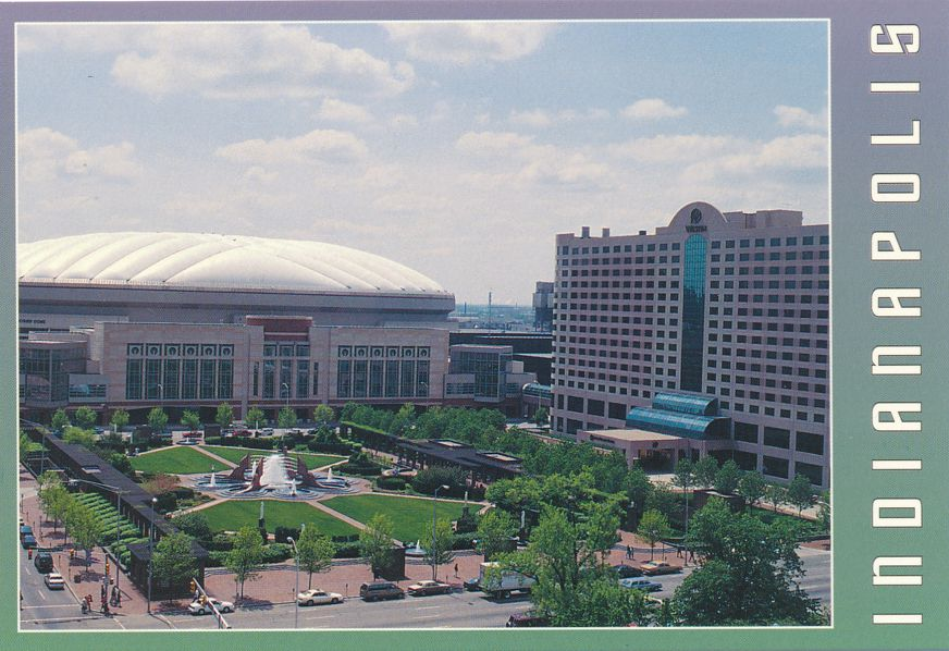 Indianapolis, Indiana - RCA Dome Convention Center and Westin Hotel