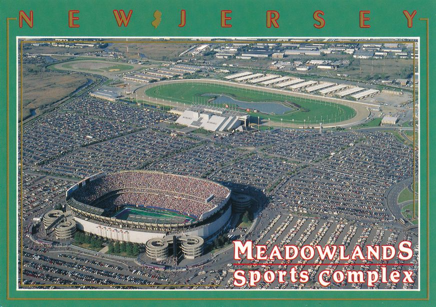 Giants Stadium and Race Track at the Meadowlands, East Rutherford, New Jersey