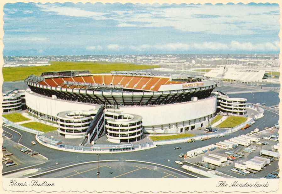 New York Giants Football Stadium at the Meadowlands, New Jersey