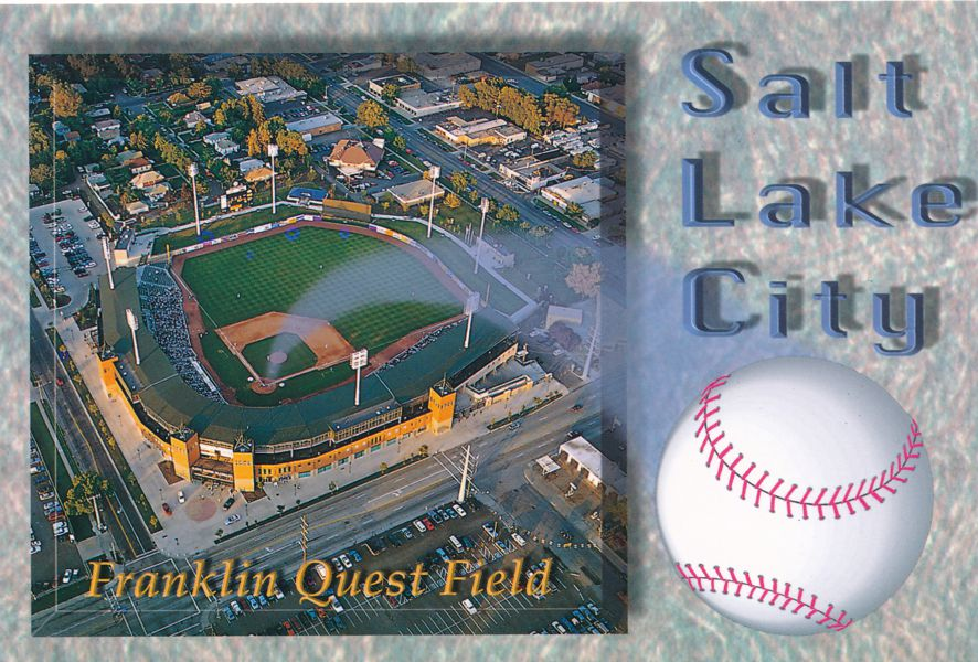 Franklin Quest Baseball Field - Salt Lake City, Utah - Home of the Utah Buzz