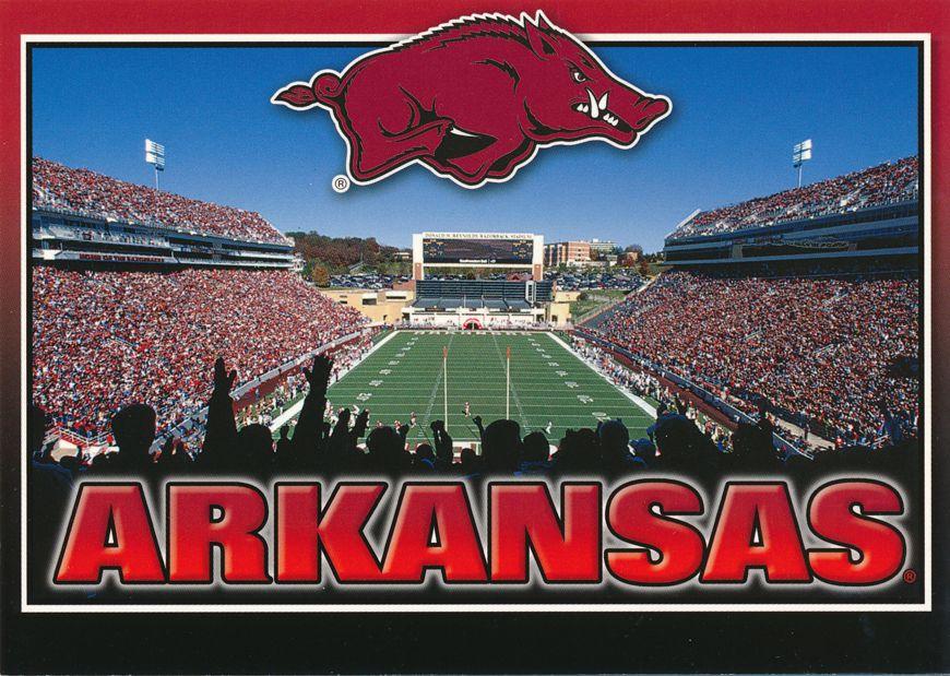 University of Arkansas Razorbacks at Fayetteville - Football Stadium
