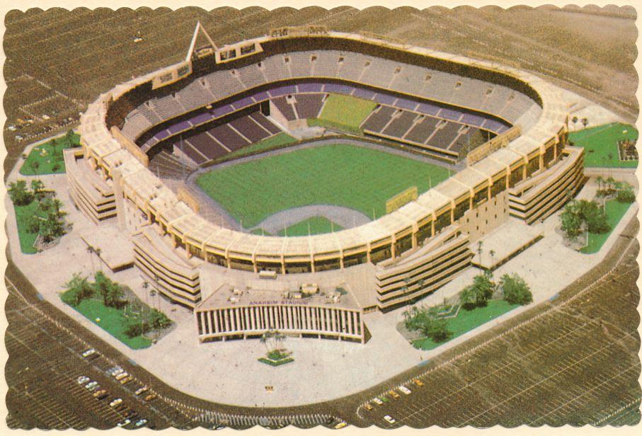 Angels Baseball and Los Angeles Rams Football - Stadium at Anaheim, California