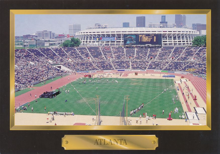 Greetings from Atlanta, Georgia - Home for World Class Sporting Events