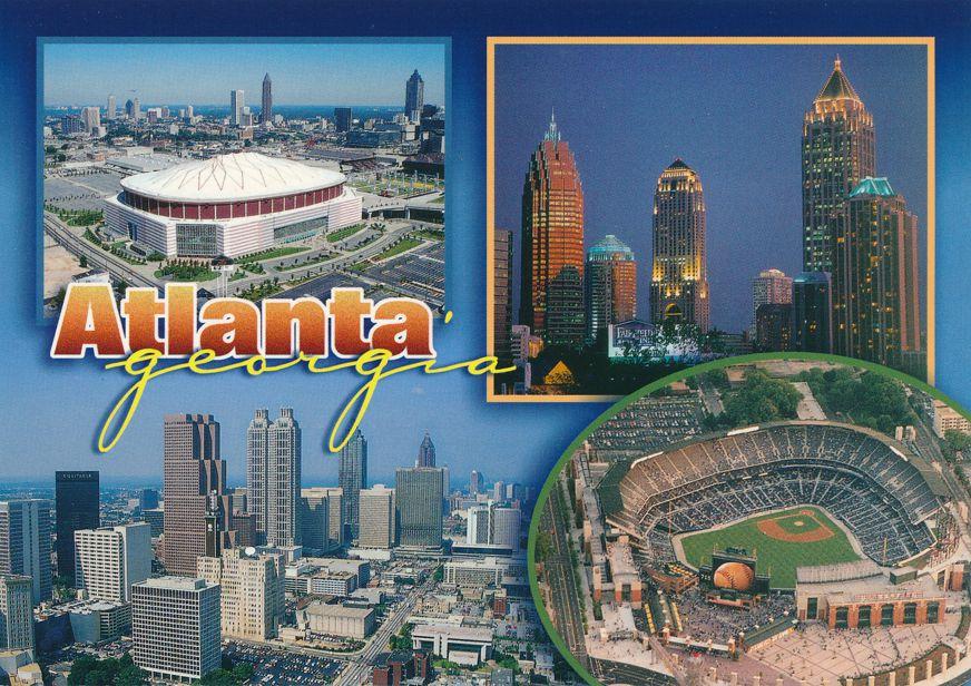 Turner Baseball Field - Atlanta, Georgia and Atlanta Multiview