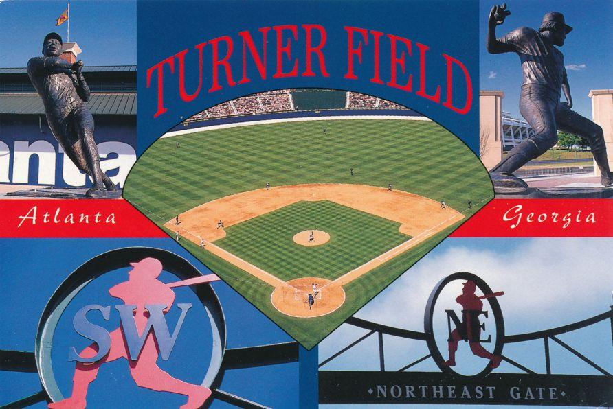 Turner Baseball Field - Atlanta, Georgia - Atlanta Braves Statues
