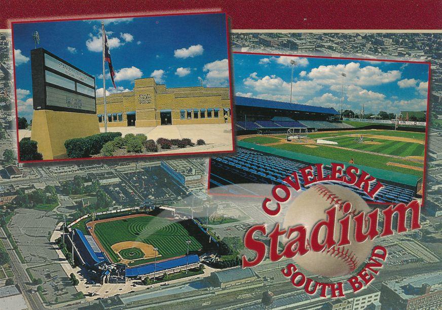 South Bend, Indiana - Coveleski Baseball Stadium