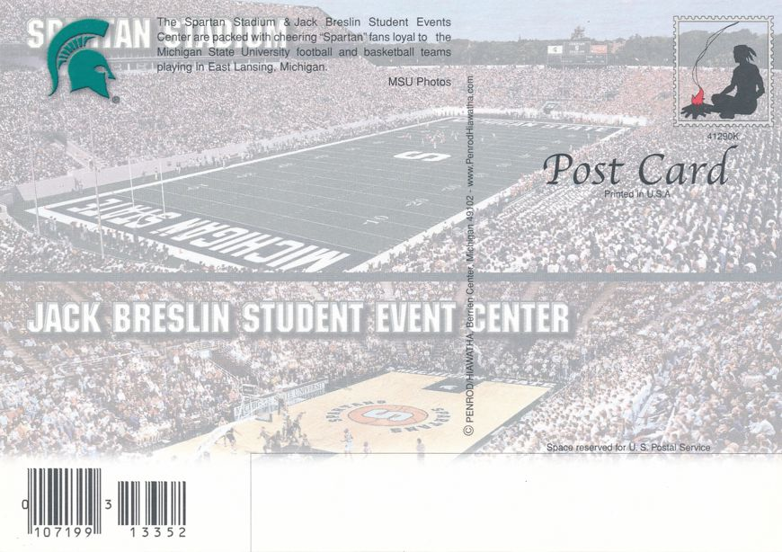 Michigan State University at East Lansing - Football Stadium and Basketball Center