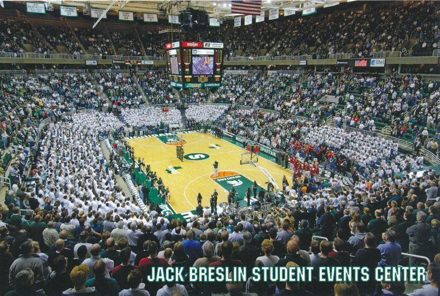Michigan State University at East Lansing - Jack Breslin Student Events Center